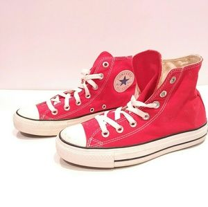 Converse red special edition size y mens 5